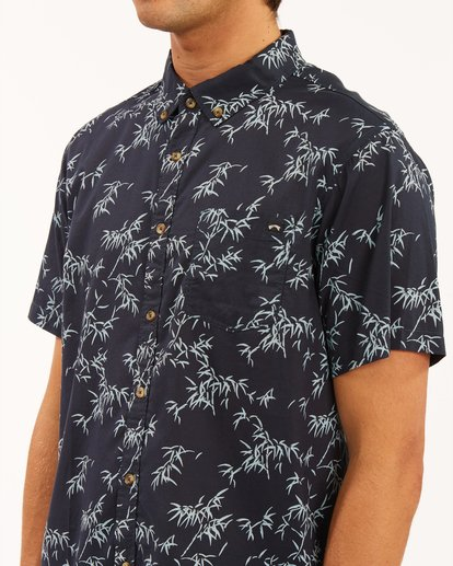3 Sundays Mini Short Sleeve Shirt Blue ABYWT00112 Billabong
