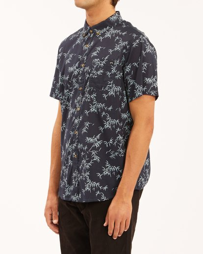 1 Sundays Mini Short Sleeve Shirt Blue ABYWT00112 Billabong