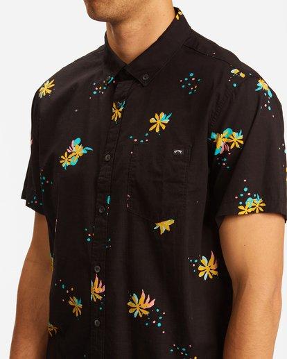3 Sundays Mini Short Sleeve Shirt Multicolor ABYWT00112 Billabong