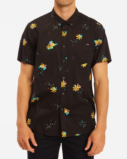 0 Sundays Mini Short Sleeve Shirt Multicolor ABYWT00112 Billabong