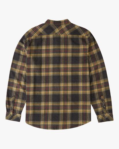 5 Coastline Flannel Shirt Black ABYWT00116 Billabong