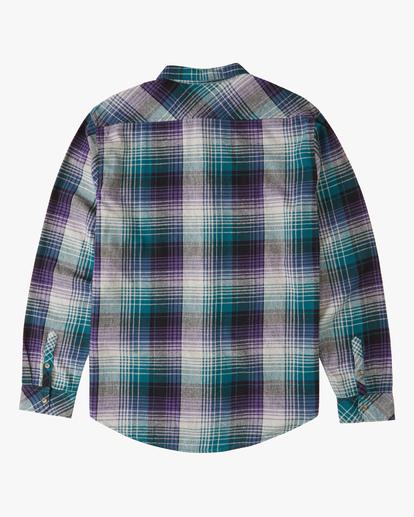 5 Coastline Flannel Shirt Orange ABYWT00116 Billabong
