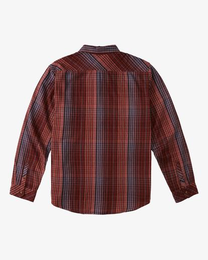 7 Coastline Flannel Shirt Green ABYWT00116 Billabong