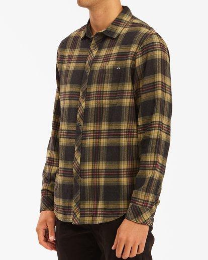 1 Coastline Flannel Shirt Black ABYWT00116 Billabong