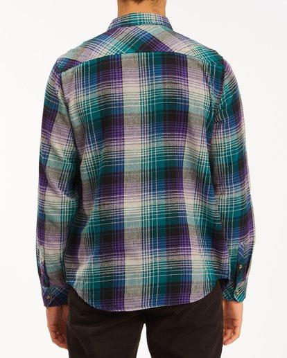 2 Coastline Flannel Shirt Orange ABYWT00116 Billabong