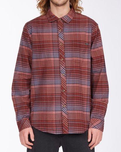 0 Coastline Flannel Shirt Green ABYWT00116 Billabong