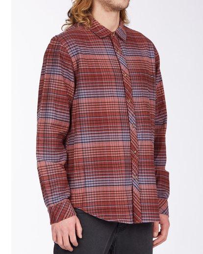 2 Coastline Flannel Shirt Green ABYWT00116 Billabong