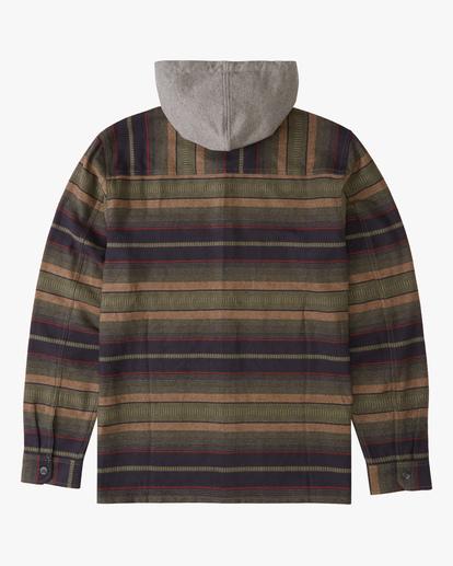 5 Baja Hooded Flannel Multicolor ABYWT00117 Billabong