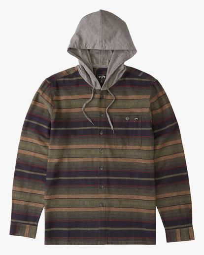 4 Baja Hooded Flannel Multicolor ABYWT00117 Billabong