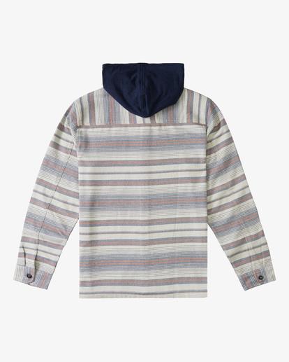 6 Baja Hooded Flannel Beige ABYWT00117 Billabong