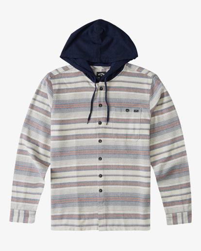 5 Baja Hooded Flannel Beige ABYWT00117 Billabong
