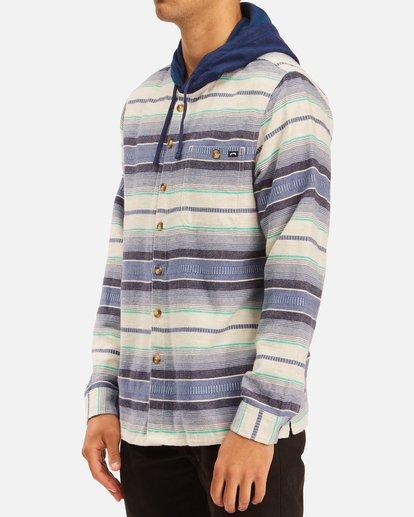 1 Baja Hooded Flannel Beige ABYWT00117 Billabong