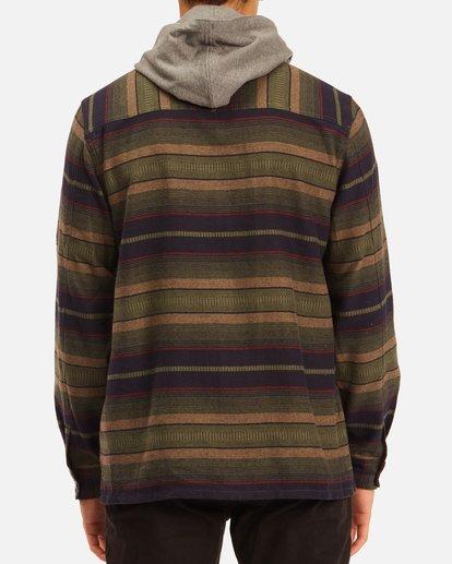 2 Baja Hooded Flannel Multicolor ABYWT00117 Billabong