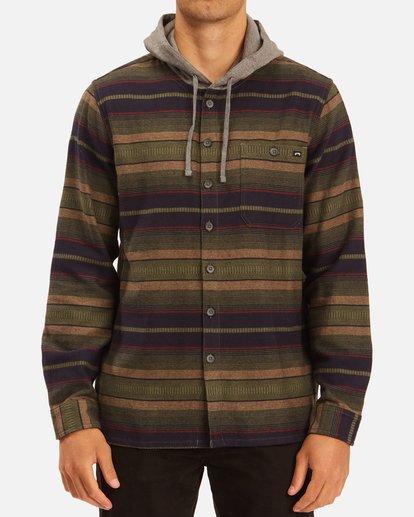 0 Baja Hooded Flannel Multicolor ABYWT00117 Billabong