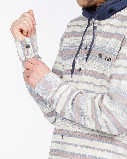 4 Baja Hooded Flannel Beige ABYWT00117 Billabong