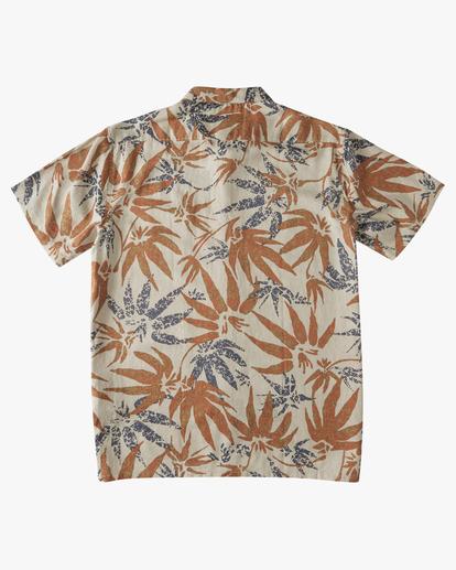 5 A/Div Kern Hemp Short Sleeve Shirt Red ABYWT00118 Billabong