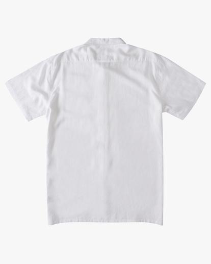5 A/Div Kern Hemp Short Sleeve Shirt White ABYWT00118 Billabong
