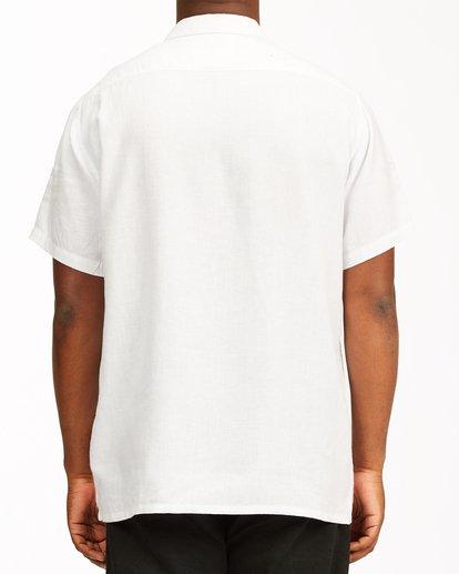 2 A/Div Kern Hemp Short Sleeve Shirt White ABYWT00118 Billabong