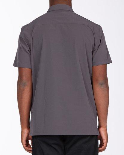 2 A/Div Surftrek Short Sleeve Shirt Black ABYWT00121 Billabong