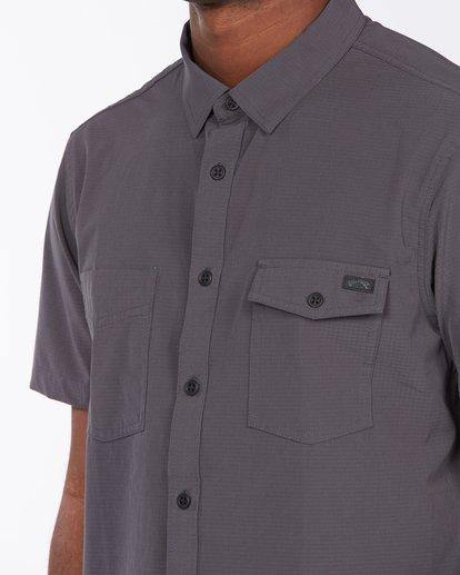 3 A/Div Surftrek Short Sleeve Shirt Black ABYWT00121 Billabong