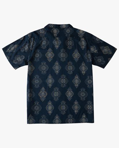 5 Sundays Vacay Short Sleeve Shirt Blue ABYWT00122 Billabong