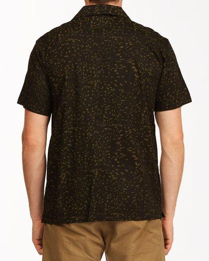 2 Sundays Vacay Short Sleeve Shirt Black ABYWT00122 Billabong