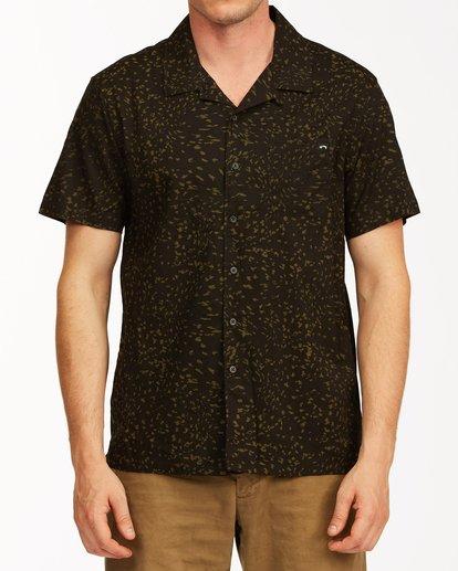 0 Sundays Vacay Short Sleeve Shirt Black ABYWT00122 Billabong