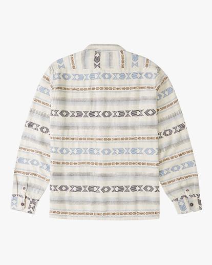 5 Offshore Jacquard Flannel Shirt Beige ABYWT00135 Billabong