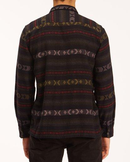 2 Offshore Jacquard Flannel Shirt Black ABYWT00135 Billabong