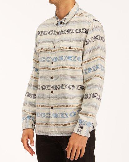 1 Offshore Jacquard Flannel Shirt Beige ABYWT00135 Billabong