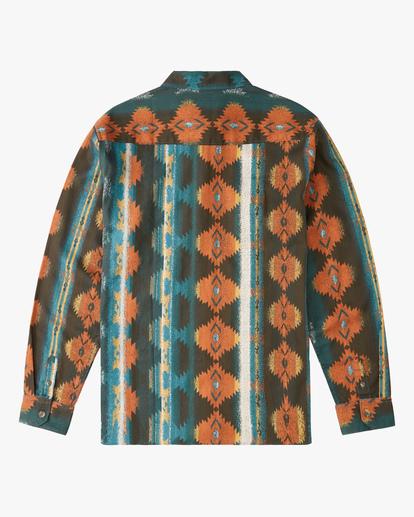 6 Wrangler Westward Twill Long Sleeve Shirt  ABYWT00144 Billabong