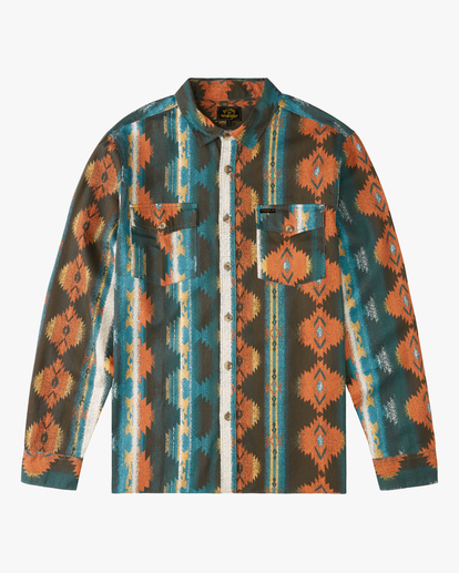 5 Wrangler Westward Twill Long Sleeve Shirt  ABYWT00144 Billabong