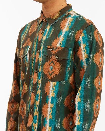 4 Wrangler Westward Twill Long Sleeve Shirt  ABYWT00144 Billabong