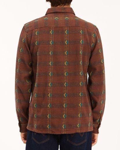 2 Wrangler Knox Jacquard Plaid Flannel Shirt Multicolor ABYWT00147 Billabong