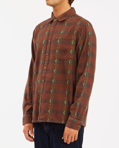 1 Wrangler Knox Jacquard Plaid Flannel Shirt Multicolor ABYWT00147 Billabong