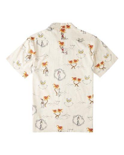 4 Sundays Vacay Grinch Short Sleeve Shirt Brown ABYWT00149 Billabong