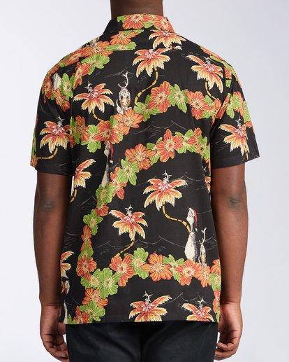 2 Sundays Vacay Grinch Short Sleeve Shirt Black ABYWT00149 Billabong