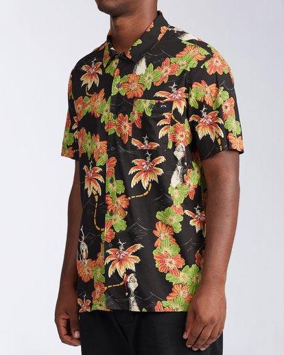 1 Sundays Vacay Grinch Short Sleeve Shirt Black ABYWT00149 Billabong
