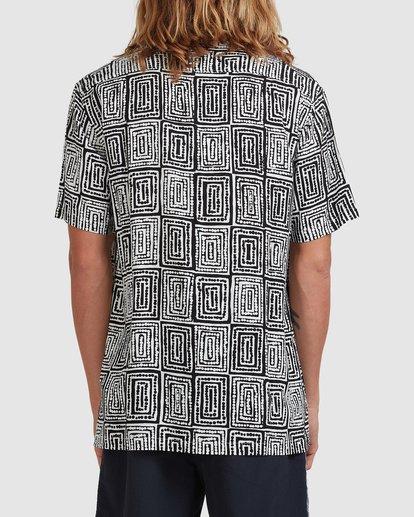 3 Otis Sky Short Sleeve Shirt Black ABYWT00151 Billabong