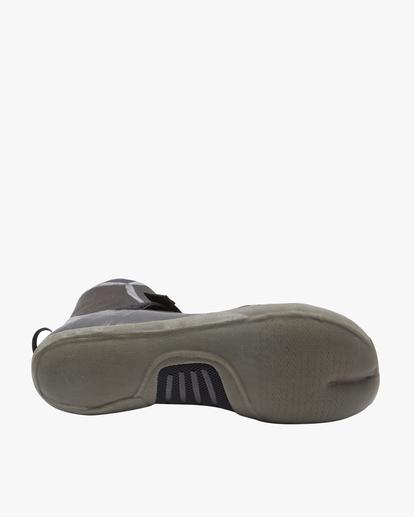 2 5mm Furnace Hidden Split Toe Wetsuit Boots Black ABYWW00101 Billabong