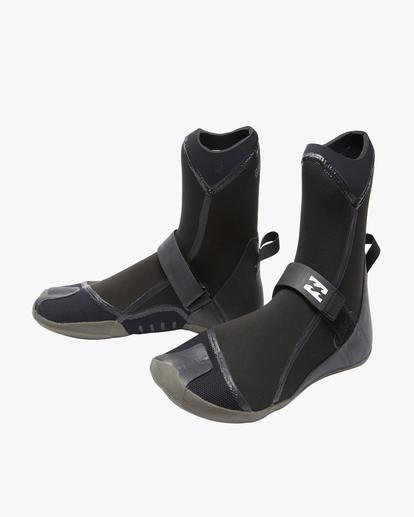 1 5mm Furnace Hidden Split Toe Wetsuit Boots Black ABYWW00101 Billabong