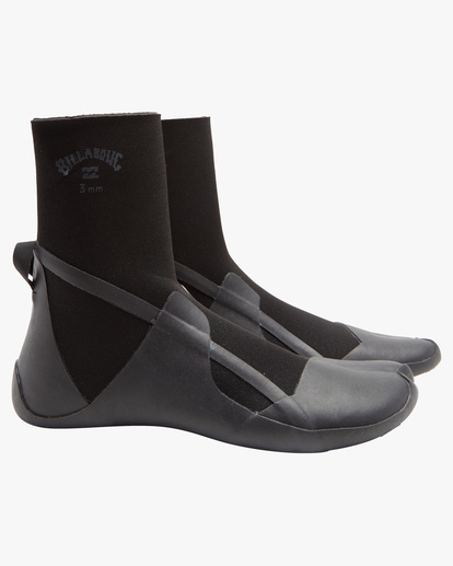 0 5mm Absolute Split Toe Wetsuit Boots Black ABYWW00110 Billabong