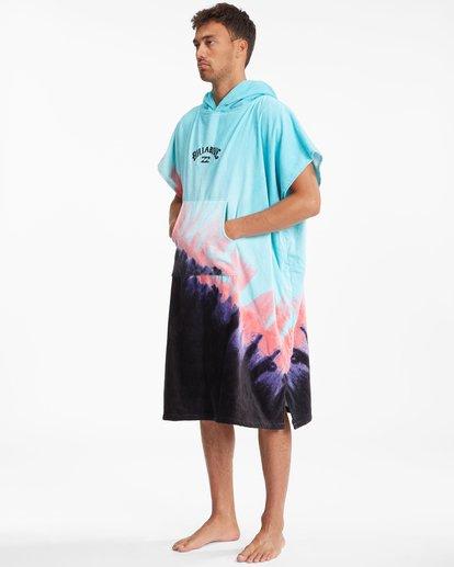 3 Hooded Towel Blue ABYWW00116 Billabong