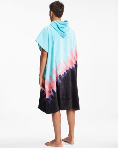 4 Hooded Towel Blue ABYWW00116 Billabong