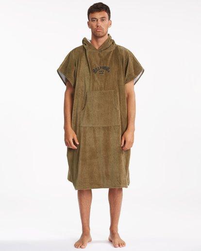 0 Hooded Towel Brown ABYWW00116 Billabong
