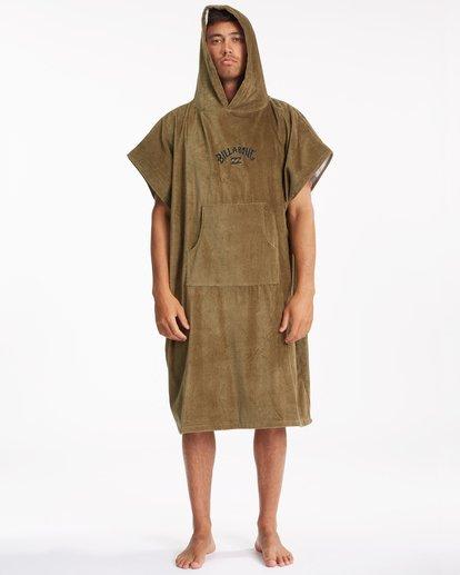 1 Hooded Towel Brown ABYWW00116 Billabong