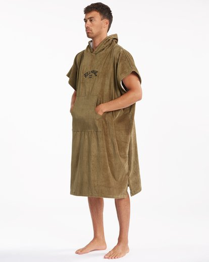 3 Hooded Towel Brown ABYWW00116 Billabong