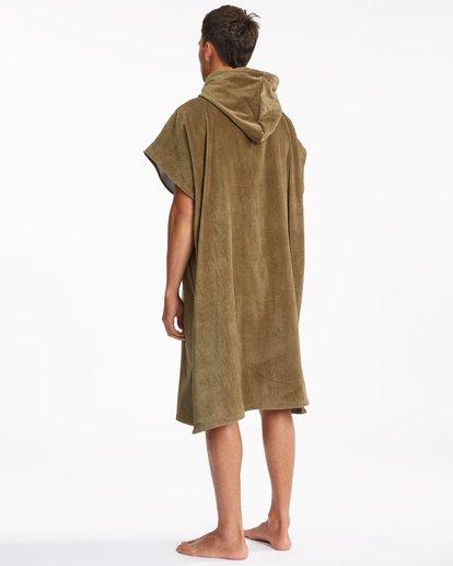 4 Hooded Towel Brown ABYWW00116 Billabong
