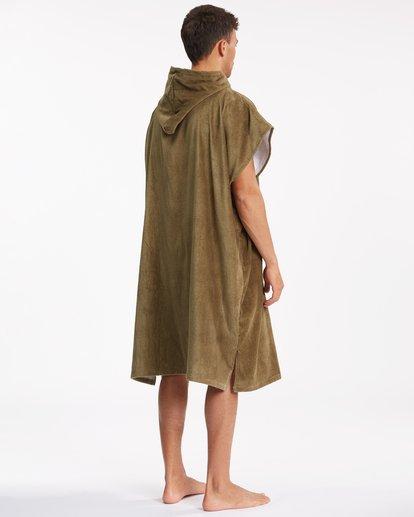 5 Hooded Towel Brown ABYWW00116 Billabong