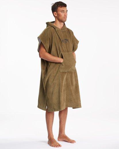 6 Hooded Towel Brown ABYWW00116 Billabong